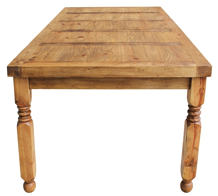 Well Known Rustic Pine Collection – Lyon Dining Table – Mes24 Inside Lyon Dining Tables (View 19 of 20)