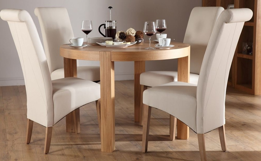 Well Known Selecting Designer Dining Table And Chair Set – Blogbeen Regarding Compact Dining Tables And Chairs (View 17 of 20)