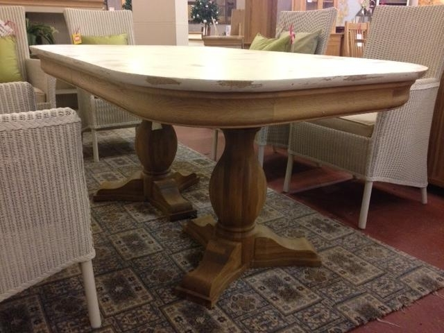 Well Known Shabby Chic Extendable Dining Tables With Regard To Lyon Shabby Chic Extending Dining Table – Second (View 9 of 20)