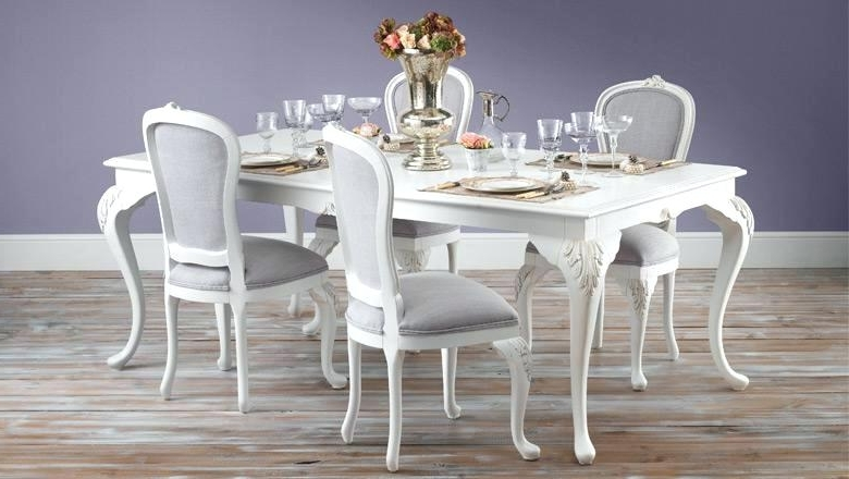 Well Known Shabby Chic Round Dining Table Chic Dining Table Image Of Shabby Inside French Chic Dining Tables (View 6 of 20)