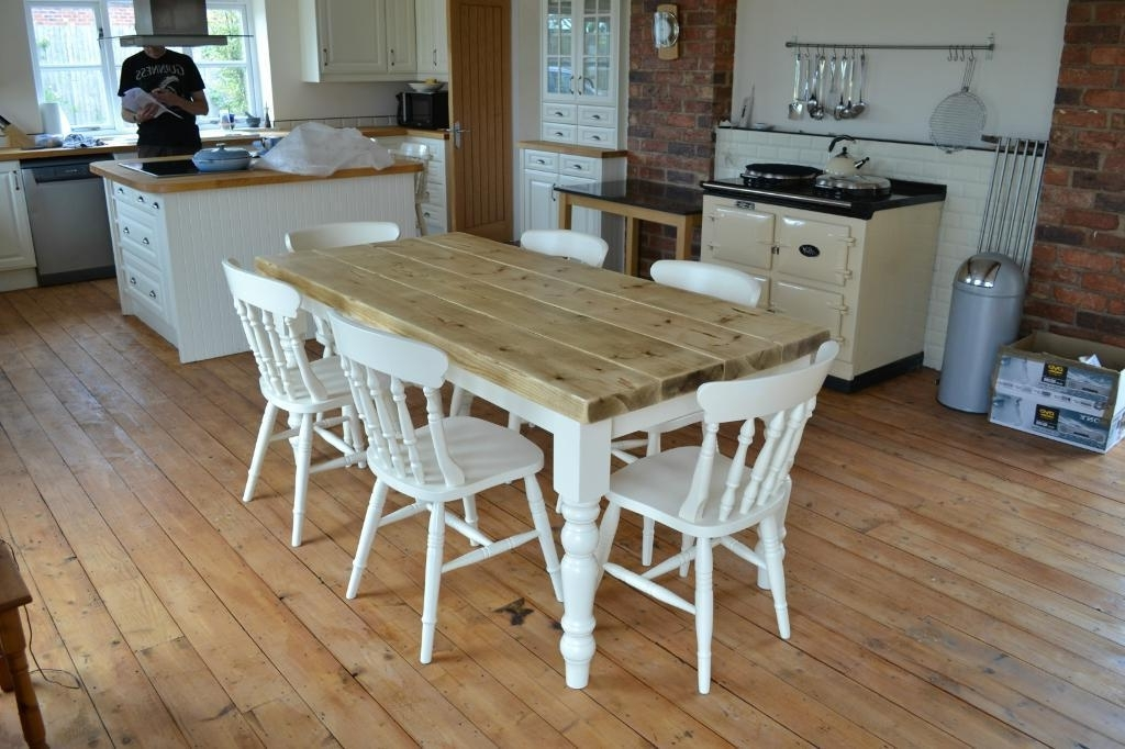 Well Known Shabby Dining Tables And Chairs Inside Shabby Chic Dining Tables Ring Pull Dining Chair (View 18 of 20)
