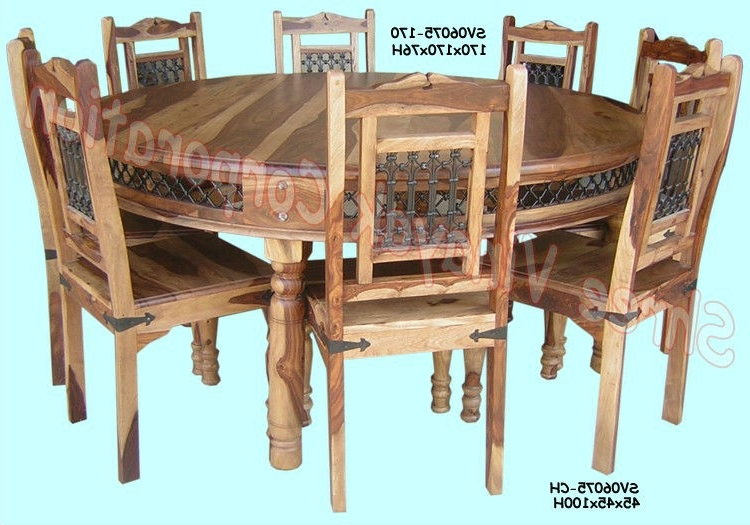 Well Known Sheesham Dining Tables And Chairs Within Wooden Dining Table Set,sheesham Wood Furniture – Buy Sheesham Wood (View 6 of 20)