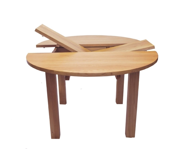 Well Known Small Round Extending Dining Tables Inside Endearing Round Extendable Dining Table Extendable Dining Table (View 15 of 20)