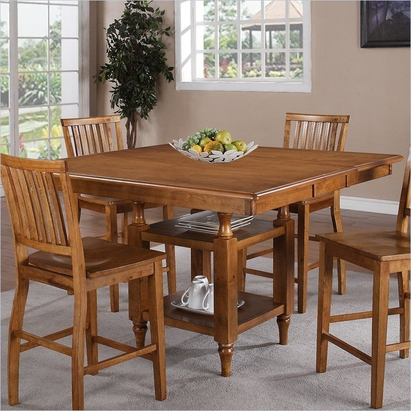 Well Known Steve Silver Company Candice Counter Height W/butterfly Leaf Oak With Regard To Candice Ii 7 Piece Extension Rectangle Dining Sets (View 20 of 20)