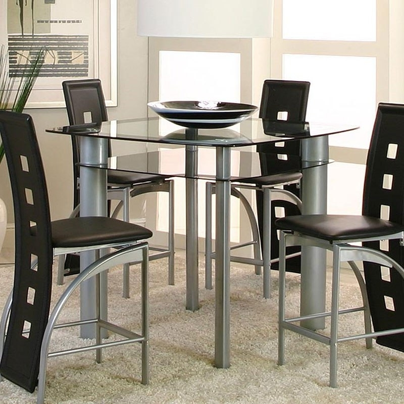 Well Known Valencia 5 Piece Counter Sets With Counterstool Regarding Valencia Counter Height Table – Dining Room And Kitchen Furniture (View 3 of 20)