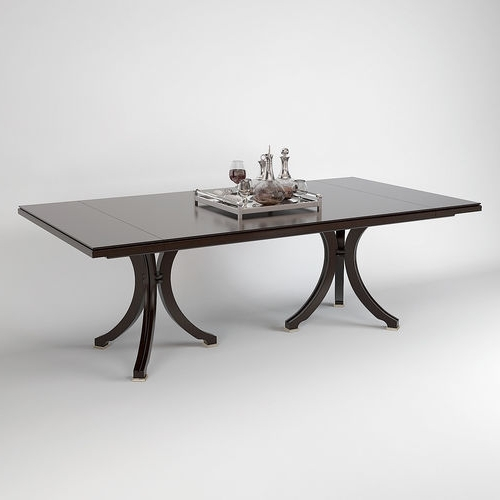 Well Known Vienna Dining Tables With Baker Vienna Dining Table 3D (View 12 of 20)