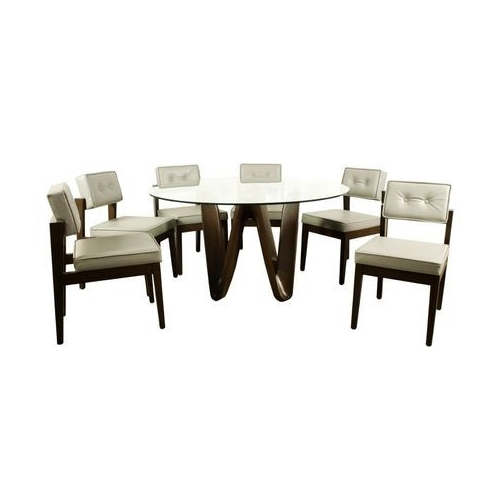 Well Known Vogue Dining Tables Regarding Vogue Round Dining Table, Rs 20000 /set, Vogue Furniture Company (View 20 of 20)