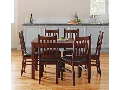 Well Known Walnut Dining Table And 6 Chairs For Argos Product Support For Cucina Walnut Dining Table And 6 Chairs (View 20 of 20)