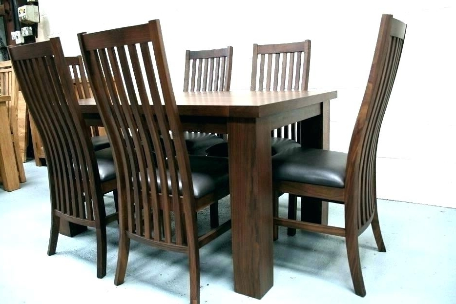 Well Known Walnut Dining Table Sets Intended For Black Walnut Dining Room Table Antique Chairs Legs And Adorable (View 20 of 20)