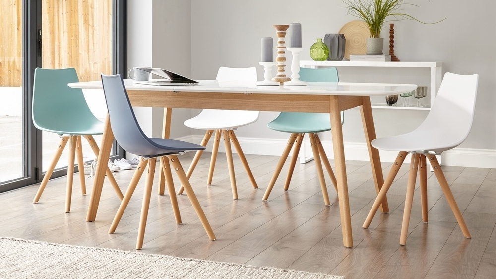 Well Known White Extending Dining Tables And Chairs Regarding 21 Extending Dining Table Sets Uk, Salou Small Extending Dining (View 15 of 20)