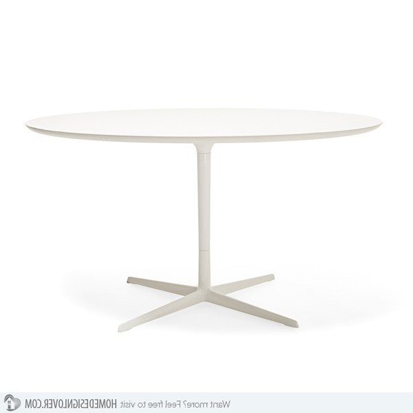 Featured Photo of White Circular Dining Tables