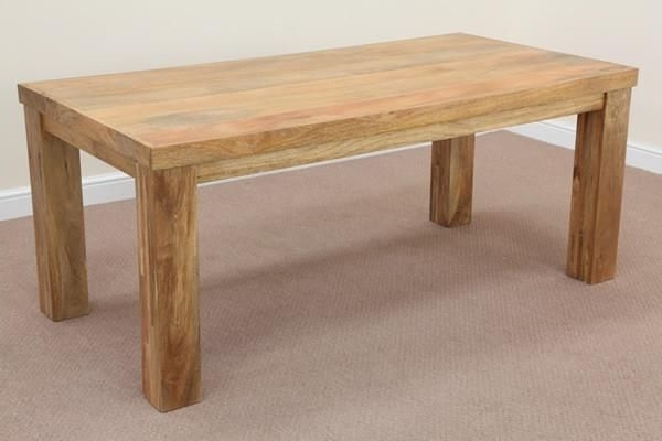 Well Liked 3Ft Dining Tables Regarding Mantis Light Natural Solid Mango 6Ft X 3Ft Dining Table (View 20 of 20)