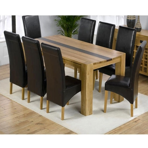 Well Liked 8 Seater Black Dining Tables Regarding 8 Seater Dining Table Set, Dining Table Set – Majestic Dream (View 19 of 20)
