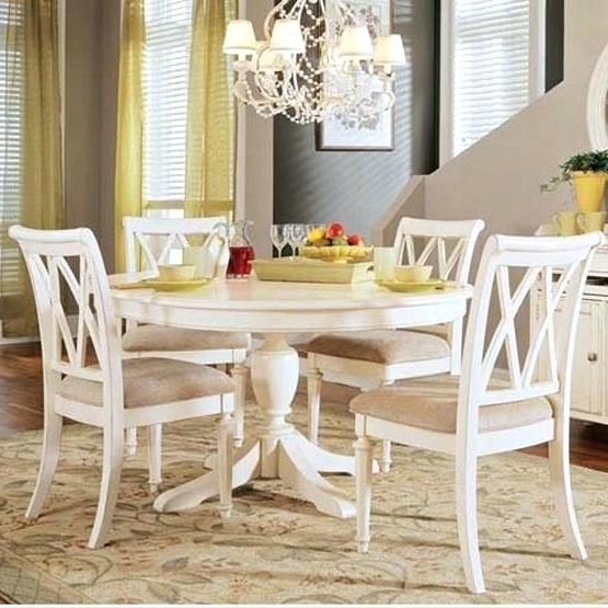Well Liked American Drew Dining Room Chairs Design White Round Dining Table Set In Pedestal Dining Tables And Chairs (View 19 of 20)
