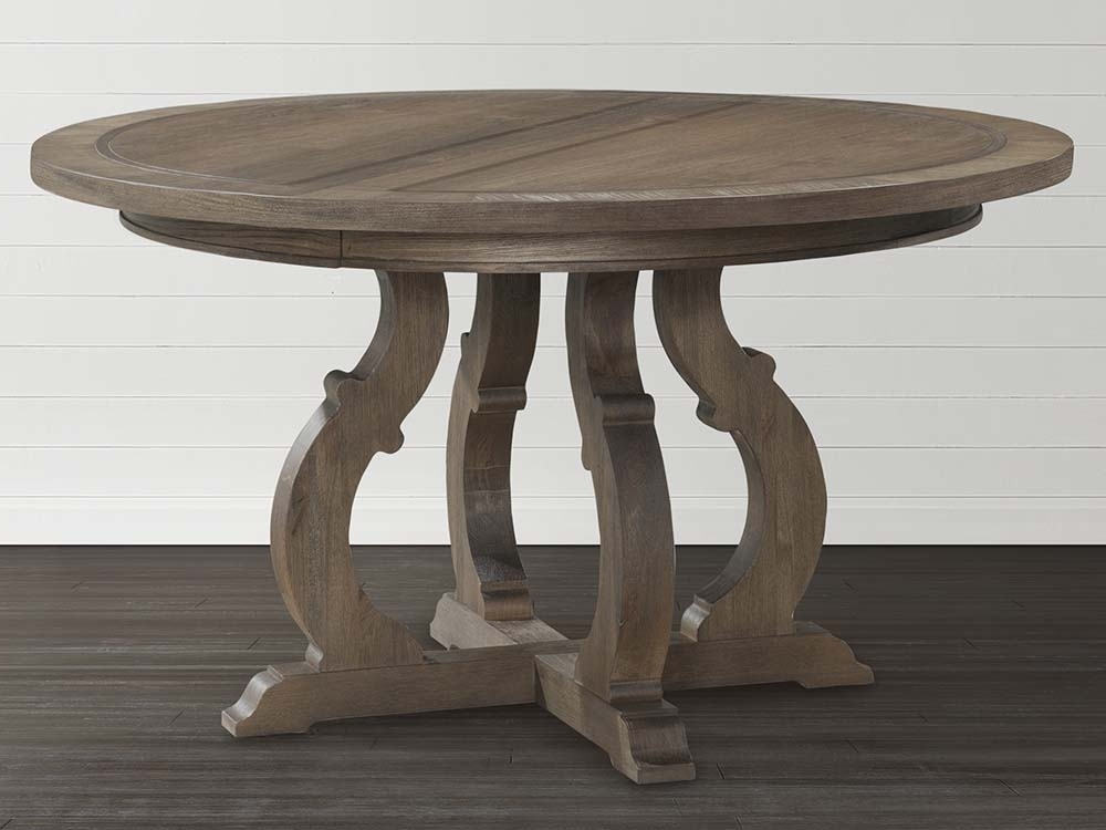 Well Liked Artisanal Dining Tables Within Artisan Round Dining Table (View 3 of 20)