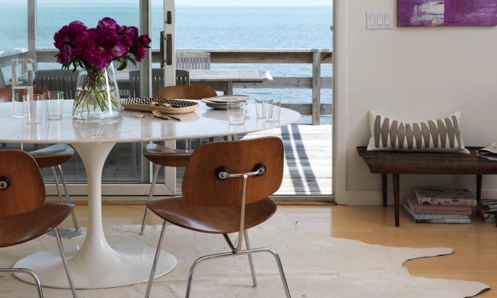 Well Liked Bale 7 Piece Dining Sets With Dom Side Chairs Intended For Shore Shack Chic: Welcome To Design Guru Christiane Lemieux's (View 19 of 20)
