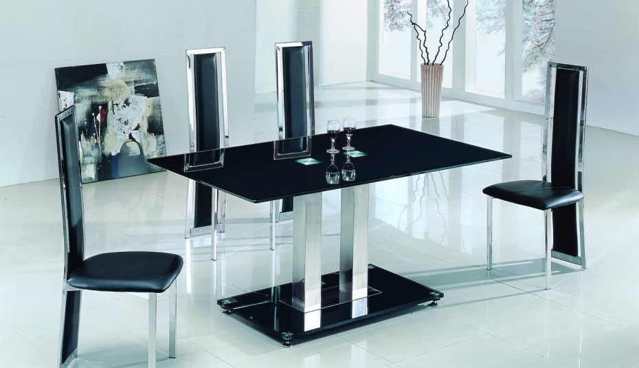 Well Liked Black Glass Extending Dining Tables 6 Chairs Throughout Argos Extending Chairs Room Black Sets Chair Oval Splendid And Small (View 18 of 20)