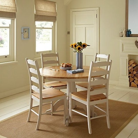 Well Liked Buy John Lewis Regent Round 4 6 Seater Extending Dining Table Online Inside Small Round Extending Dining Tables (View 18 of 20)