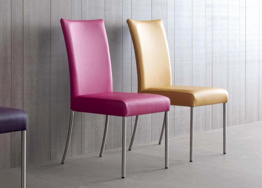 Well Liked Chrome Leather Dining Chairs In Chrome And Leather Dining Chairs Best Of Wire Dining Chair – Dining (View 20 of 20)