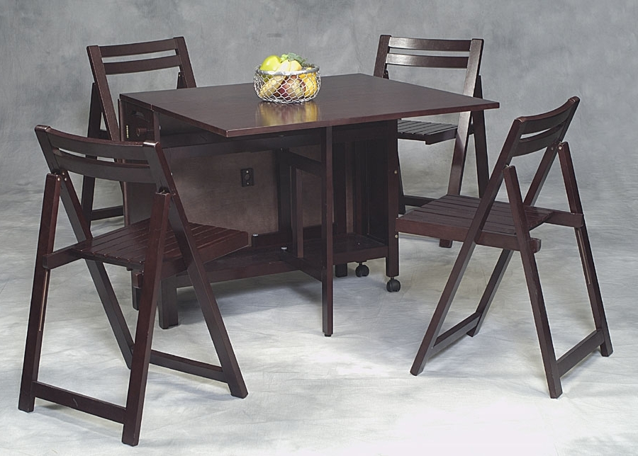 Well Liked Compact Folding Dining Tables And Chairs In Compact Folding Dining Table And Chairs (8 Images) – Utau Chairs (View 18 of 20)