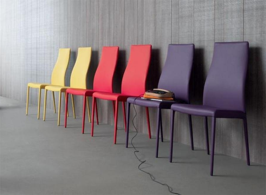 Well Liked Compar, Miarylin, Eco Leather Or Leather Dining Chair (View 20 of 20)