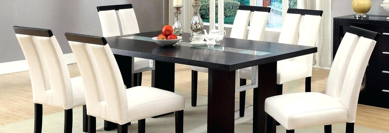 Well Liked Contemporary Dining Room Tables And Chairs Inside Contemporary Dining Room Furniture Modern Contemporary Kitchen (View 20 of 20)