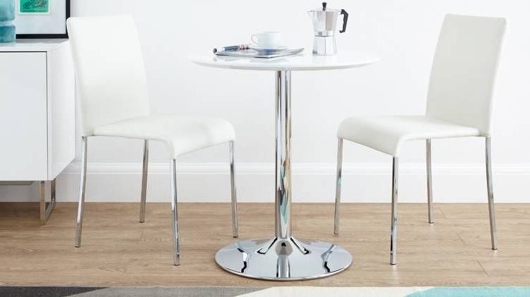 Well Liked Danetti Offer A Selection Of Stylish And Contemporary Two Seater Intended For Two Seat Dining Tables (View 6 of 20)