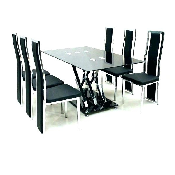 Well Liked Dining Tables And 6 Chairs With Regard To Glass Table For 6 – Businessforbeginners (View 19 of 20)