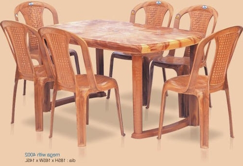 Well Liked Dining Tables For Six Within Nilkamal Dining Tables – Six Seater Dining Table Wholesale Trader (View 11 of 20)