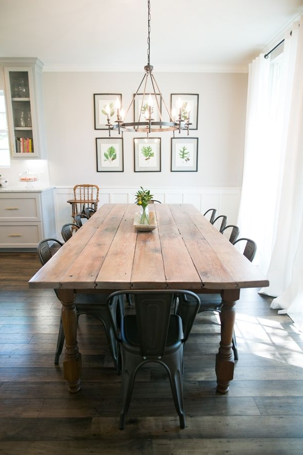 Well Liked Farm Dining Tables With Regard To 10 Beautiful Spaces: Dining Room Decor That I Love (View 19 of 20)