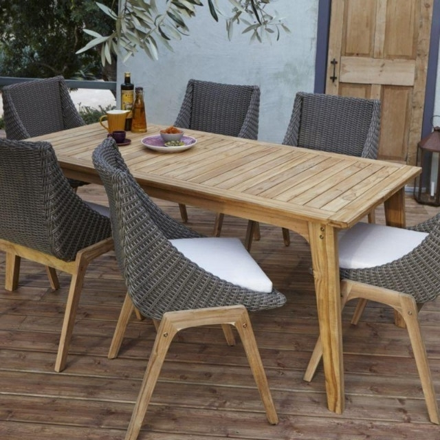 Well Liked Garden Furniture: 10 Outdoor Tables And Chair Sets, Garden Table Within Garden Dining Tables And Chairs (View 6 of 20)