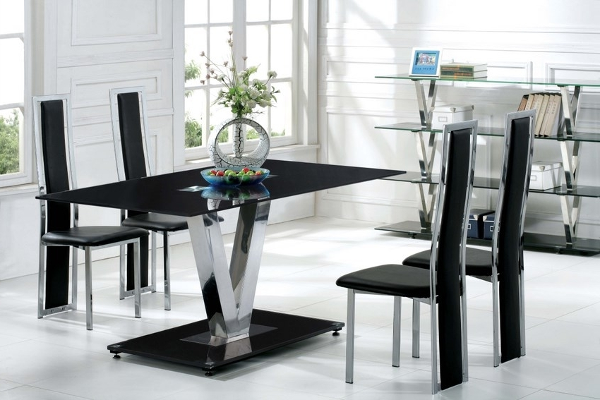 Well Liked Ikea Dinner Tables — Bmpath Furniture For Black Glass Dining Tables And 6 Chairs (View 20 of 20)