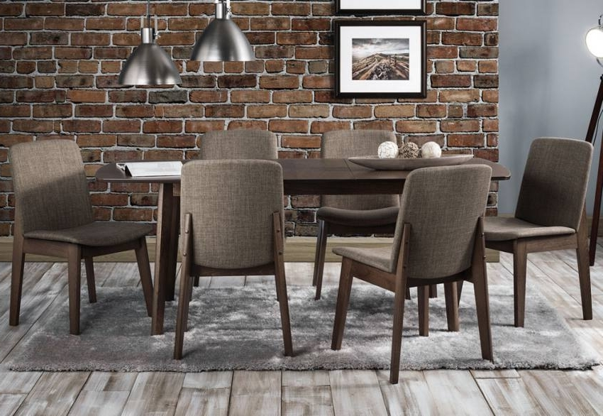 Well Liked Julian Bowen – Kensington Extending Dining Table & Dining Chairs Inside Walnut Dining Tables And 6 Chairs (View 19 of 20)