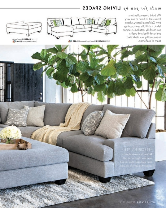 Well Liked Living Spaces – Spring 2018 – Harper Foam 3 Piece Sectional W/raf Chaise Within Harper Foam 3 Piece Sectionals With Raf Chaise (View 2 of 15)