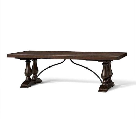Well Liked Magnolia Home Bench Keeping 96 Inch Dining Tables For Lorraine Extending Dining Table; 96 – 120 Inches (View 19 of 20)