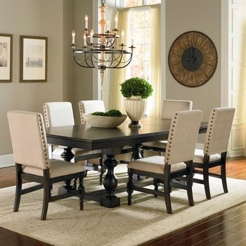 Well Liked Market 7 Piece Dining Sets With Host And Side Chairs For Costco: Carmel 7 Piece Dining Set (View 19 of 20)