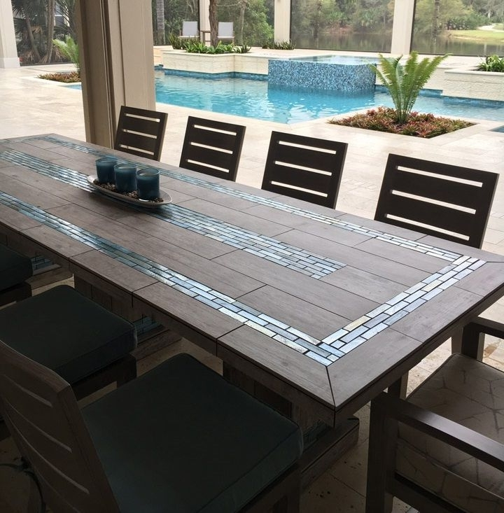 Well Liked Mosaic Dining Tables For Sale Throughout 1251 Best Tafel S Moza¯ek Images On Pinterest Mosaic Dining Tables (View 8 of 20)