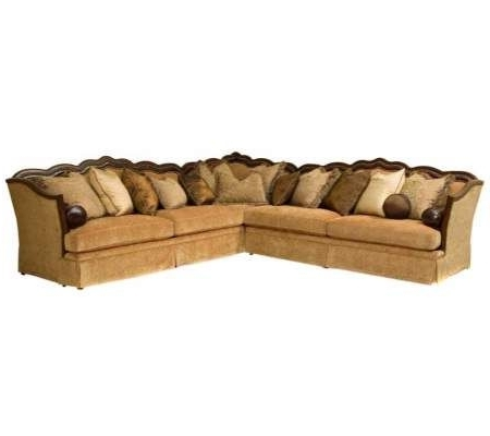Well Liked Norfolk Chocolate 3 Piece Sectionals With Raf Chaise Regarding Provence Slate Lisa Ii 3 Piece Sectional Sofa (View 11 of 15)