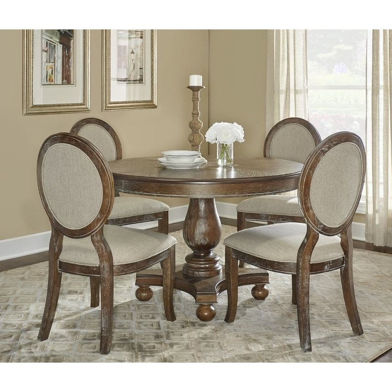 Well Liked One Allium Way Hallows Creek 5 Piece Dining Set & Reviews (View 19 of 20)