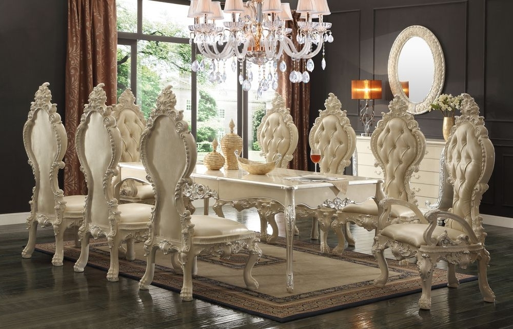 Well Liked Royal Dining Tables Intended For The White Royal Dining Room (View 8 of 20)