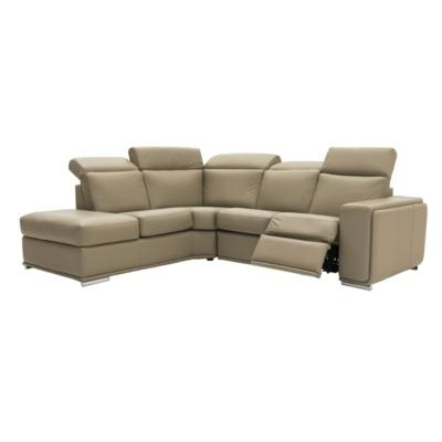 Well Liked Sectional Sofas At Germain Larivière Pertaining To Burton Leather 3 Piece Sectionals With Ottoman (View 15 of 15)