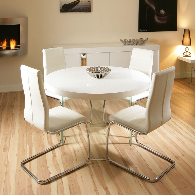 Well Liked Small Round Cream Kitchen Table — Batchelor Resort Home Ideas Inside Cream High Gloss Dining Tables (View 19 of 20)