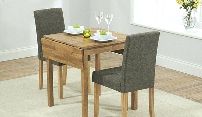 Well Liked Small Two Person Dining Tables Within Small Two Person Dining Table Exciting Small 2 Dining Sets Small  (View 19 of 20)