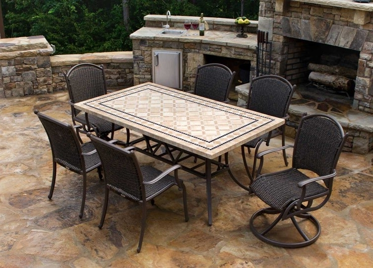 Well Liked Tortuga Outdoor Marquesas Wicker 7 Piece Dining Set (View 15 of 20)