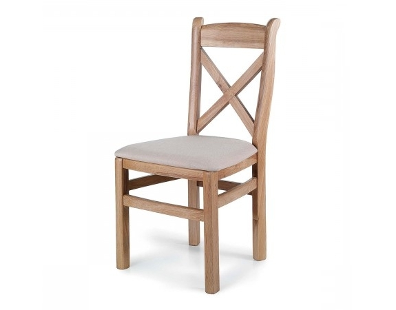 Well Liked Tuscany Contemporary Oak Cross Back Dining Chair (View 20 of 20)