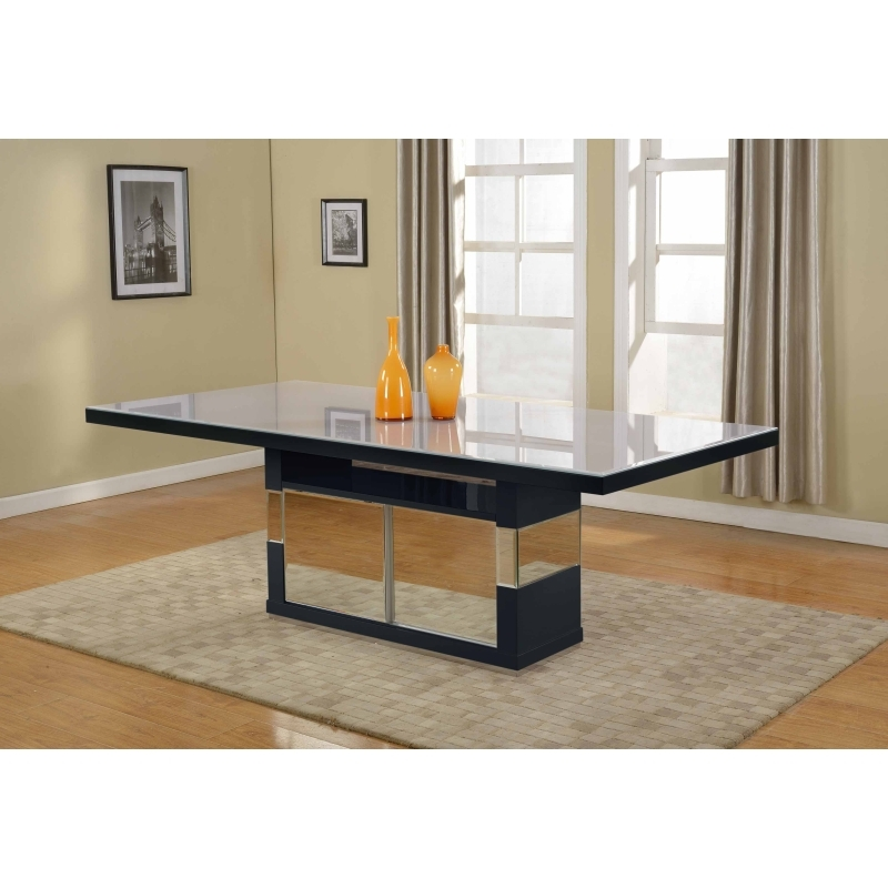 Well Liked Victor Dining Table – Black – Homeitaliajoosubs With Victor Dining Tables (View 18 of 20)