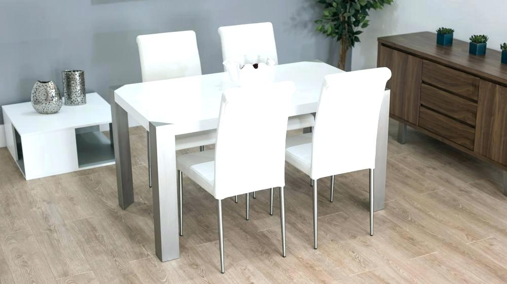 Well Liked White Gloss Dining Chairs In White Gloss Dining Set Extending White Gloss Dining Table Furniture (View 14 of 20)