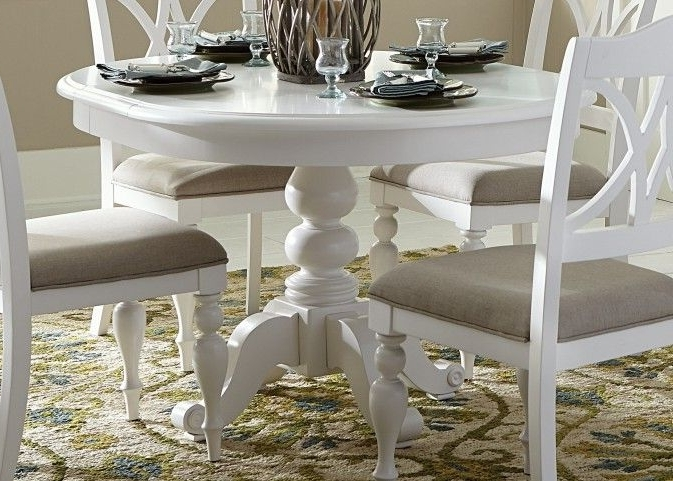 White Circle Dining Tables Intended For Current Perfect For Our Next Home (View 14 of 20)