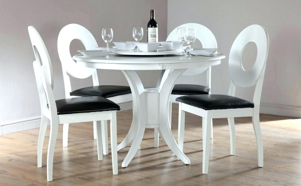 White Circular Dining Tables In 2017 Circle Dining Table Room White Round Set For 4 Tables Size – Rlci (View 17 of 20)