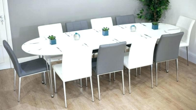 White Folding Dining Table And Chairs Oval Dining Room Table Sets With Well Known Oval Folding Dining Tables (View 20 of 20)